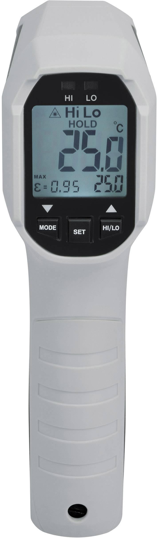 Infračervený teplomer VOLTCRAFT IRF 650-12DIP, Optika 12:1, -35 do 650 °C