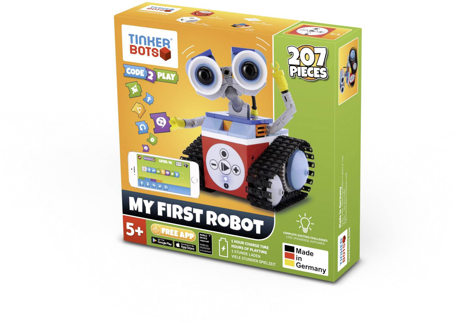 Stavebnice robota TINKERBOTS My first Robot Set