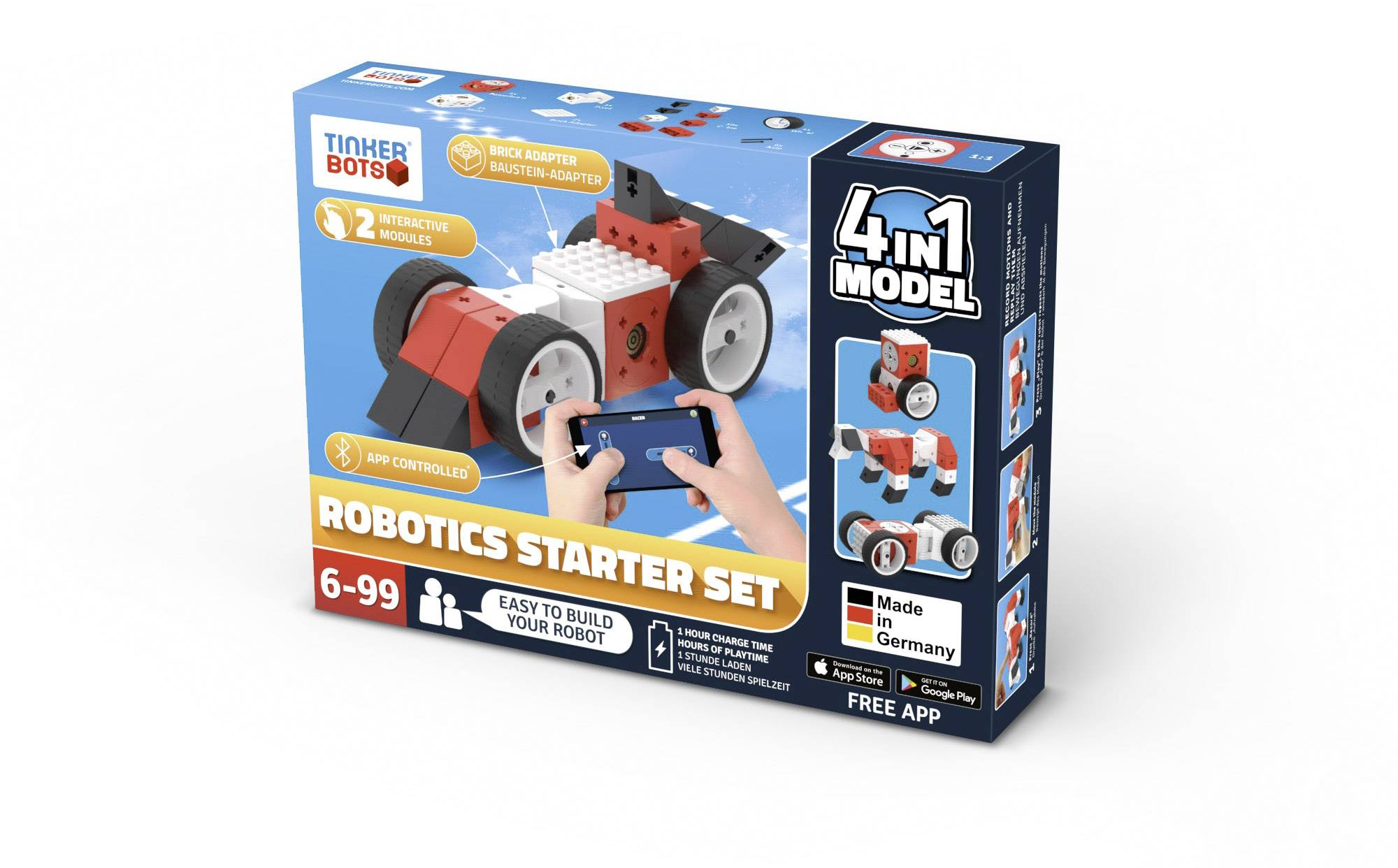 Stavebnica robota TINKERBOTS Robotics Starter Set