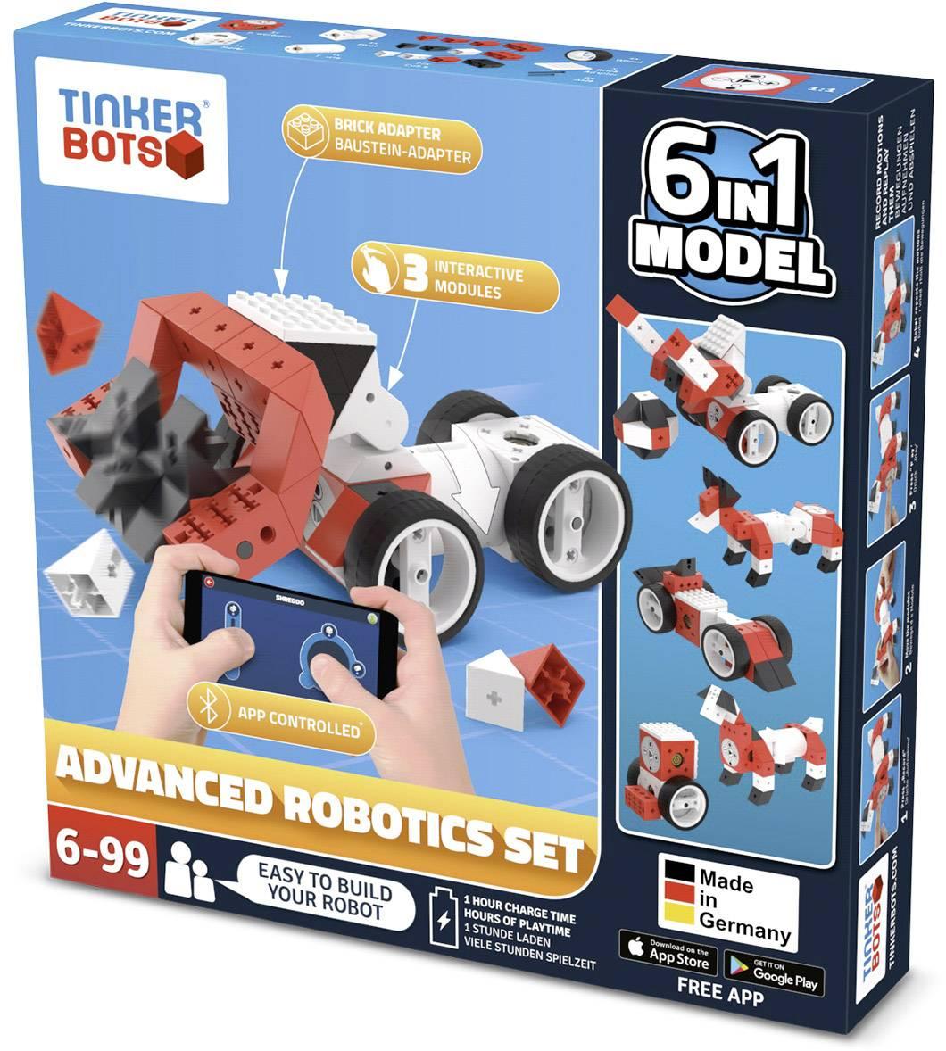 Stavebnica robota TINKERBOTS Robotics Advanced Set