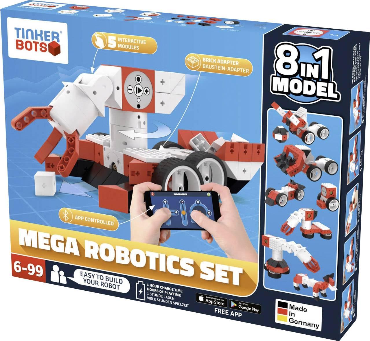 Stavebnica robota TINKERBOTS Robotics Mega Set