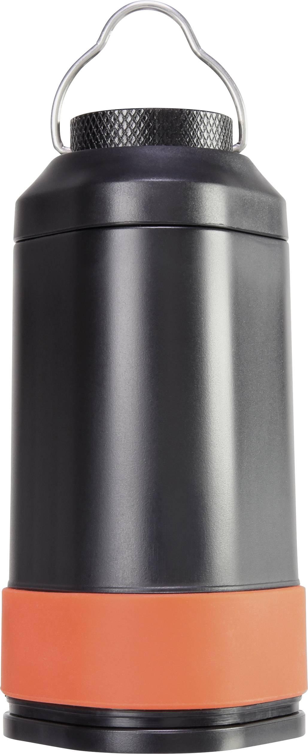 LED kempingová lucerna Basetech CLT BT-1575759, 243 g, černá/oranžová