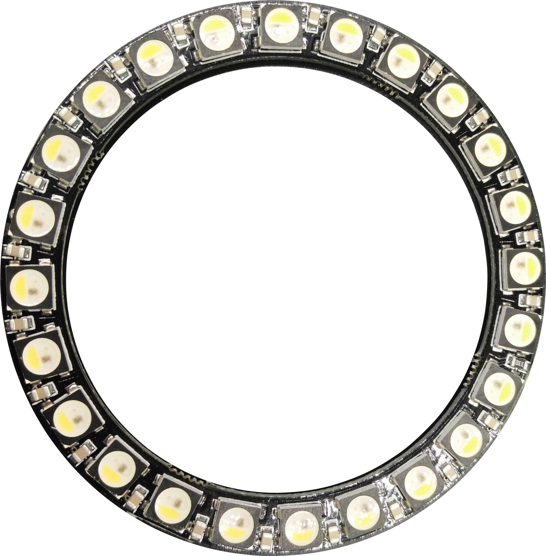 HighPower LED Thomsen LED-RING-24-RGB-SK, 120 °, 8 lm, 7.20 W, 5 V, RGBW
