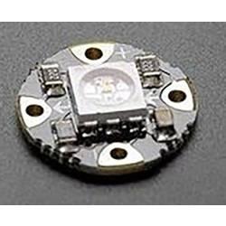 Viacfarebná SMD LED Thomsen LED-RUND-RGB-SK, 120 °, 8 lm, 0.30 W, 5 V, RGB
