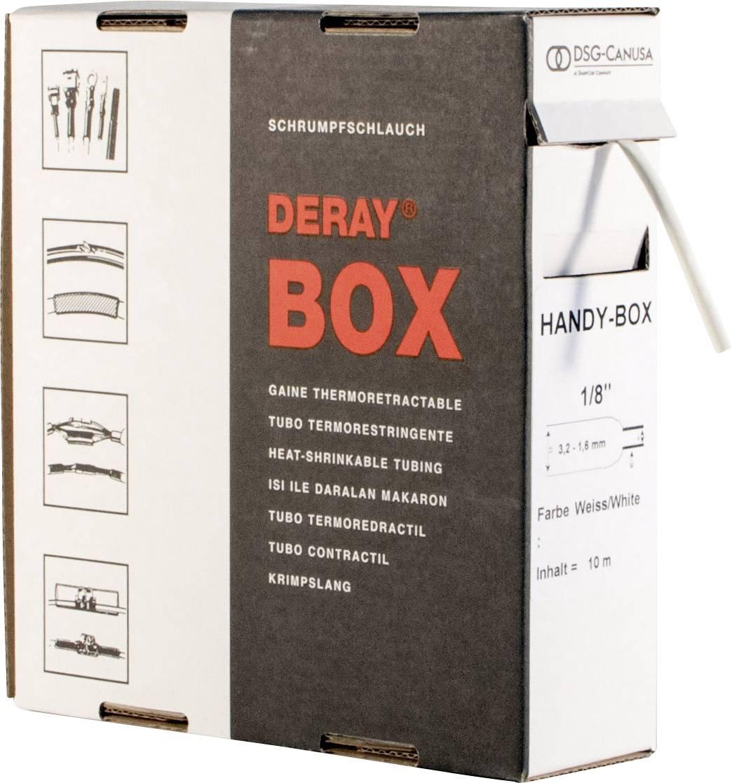 Zmršťovacie bužírky nelepiace DSG Canusa DERAY-Box 8610254902, 2:1, 25.40 mm, biela, 3 m