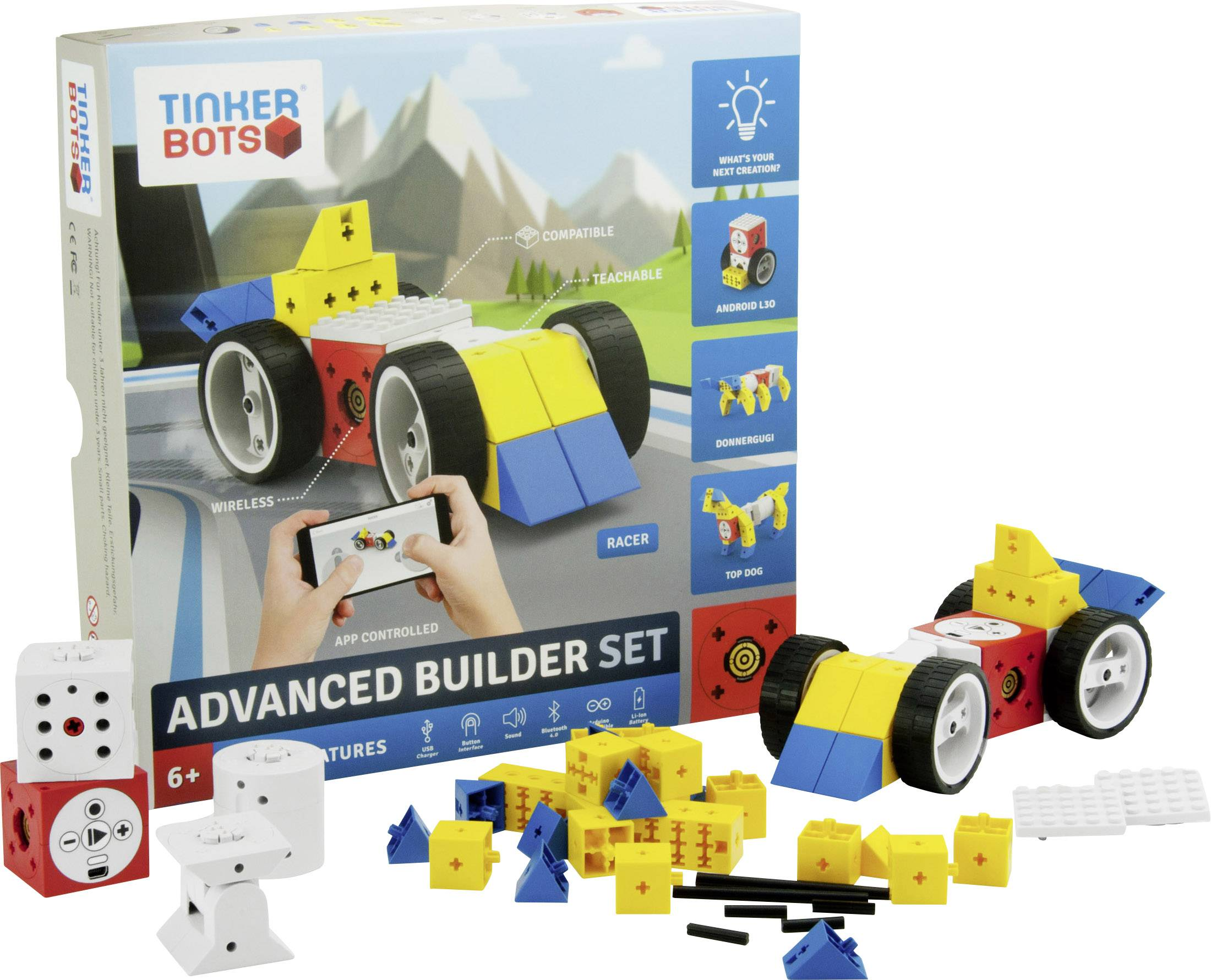 Stavebnice robota TINKERBOTS Advanced Builder Set