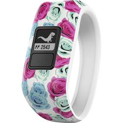 Fitness hodinky Garmin vivofit jr. Real Flower Gr. M