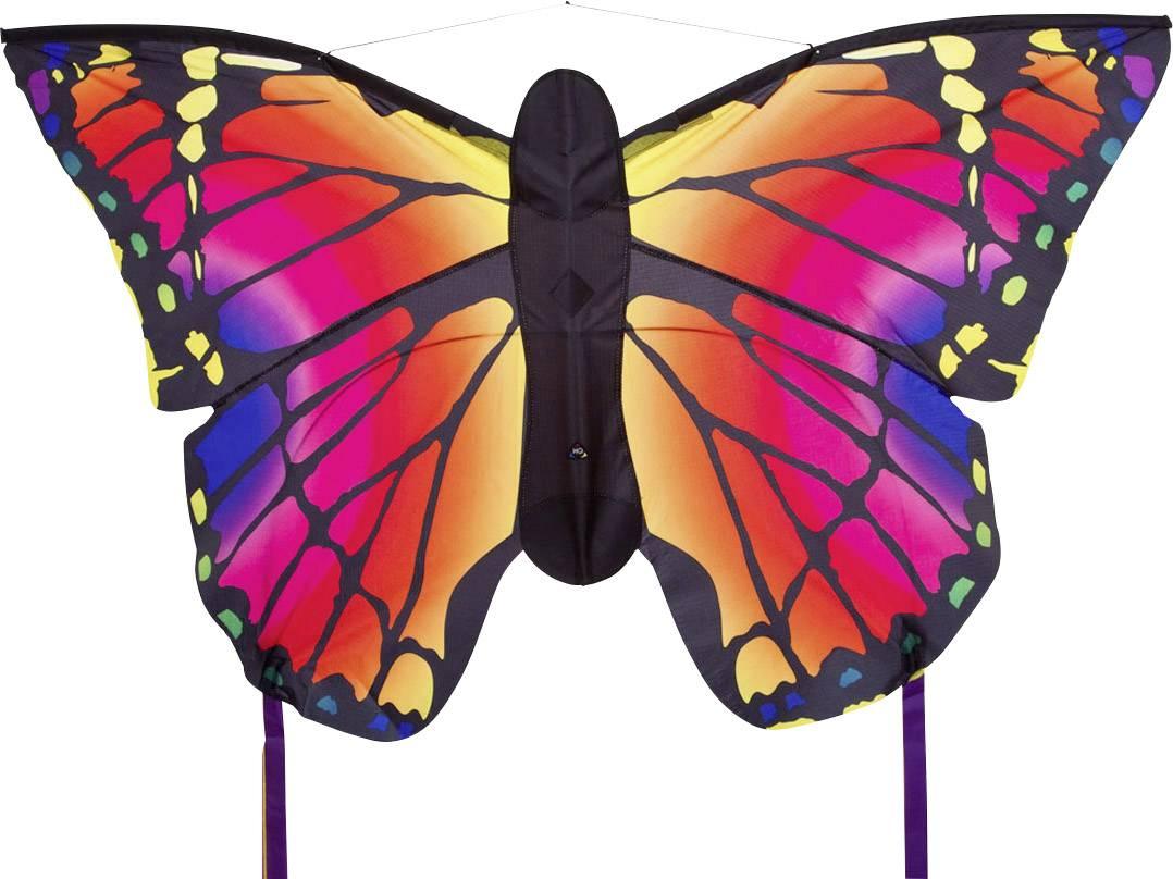 """Šarkan jednošnúrový HQ Butterfly Kite Ruby """"L"""" 106543, rozpätie 1300 mm"""