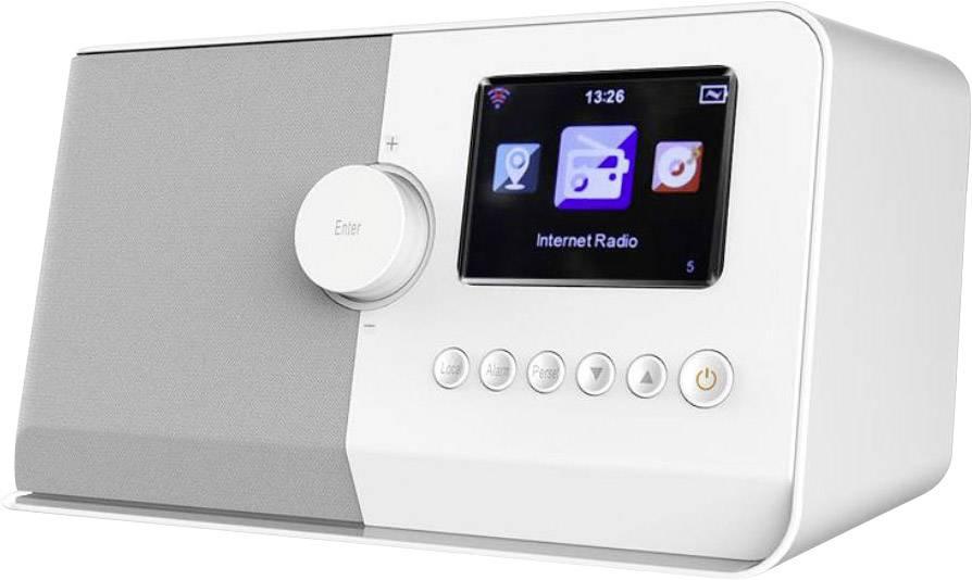 Internetové stolné rádio SoundMaster IR5500, Wi-Fi, biela