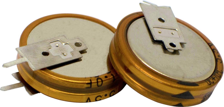 Dvouvrstvý kondenzátor Korchip DCS5R5224VF, 0.22 F, 5.5 V, (Ø x v) 11.5 mm x 12.5 mm, 1 ks