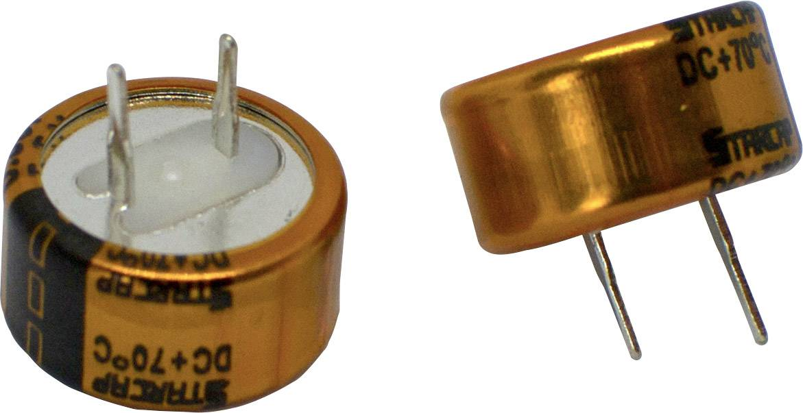 Dvouvrstvý kondenzátor Korchip DCS5R5104CF, 0.1 F, 5.5 V, (Ø x v) 13.5 mm x 7.0 mm, 1 ks