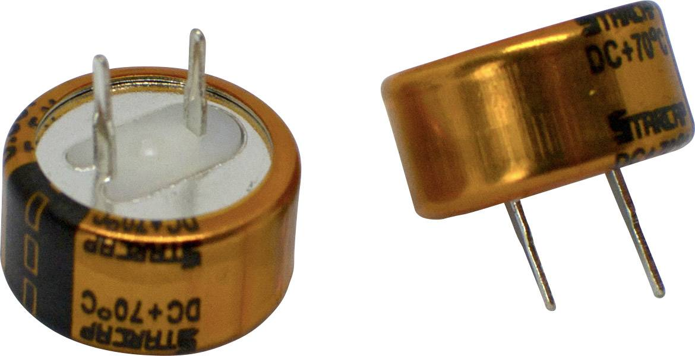 Dvouvrstvý kondenzátor Korchip DCS5R5224CF, 0.22 F, 5.5 V, (Ø x v) 13.5 mm x 7.0 mm, 1 ks