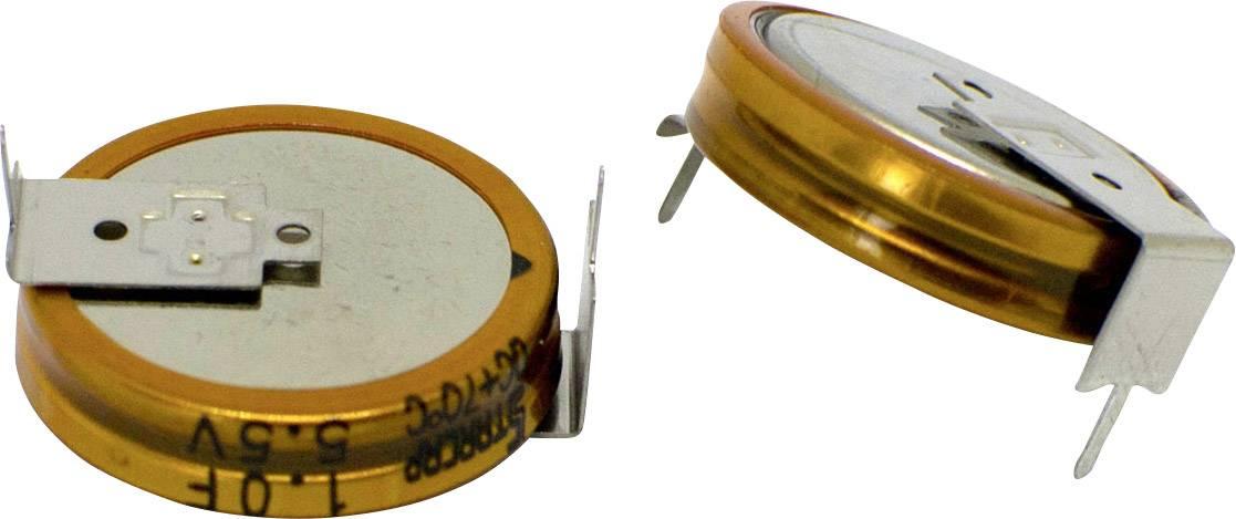 Dvouvrstvý kondenzátor Korchip DCS5R5224HF, 0.22 F, 5.5 V, (Ø x v) 11.5 mm x 5.5 mm, 1 ks