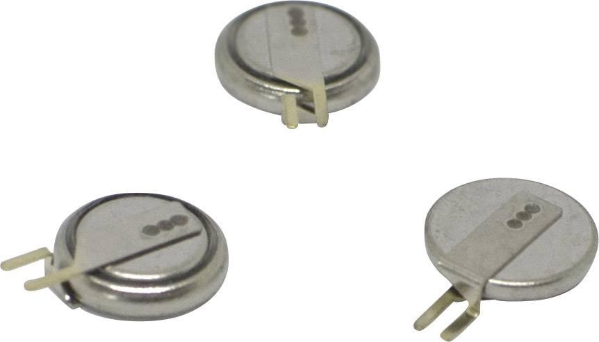 Dvouvrstvý kondenzátor Korchip DMS3R3224R, 0.22 F, 3.3 V, (Ø x v) 6.8 mm x 1.4 mm, 1 ks