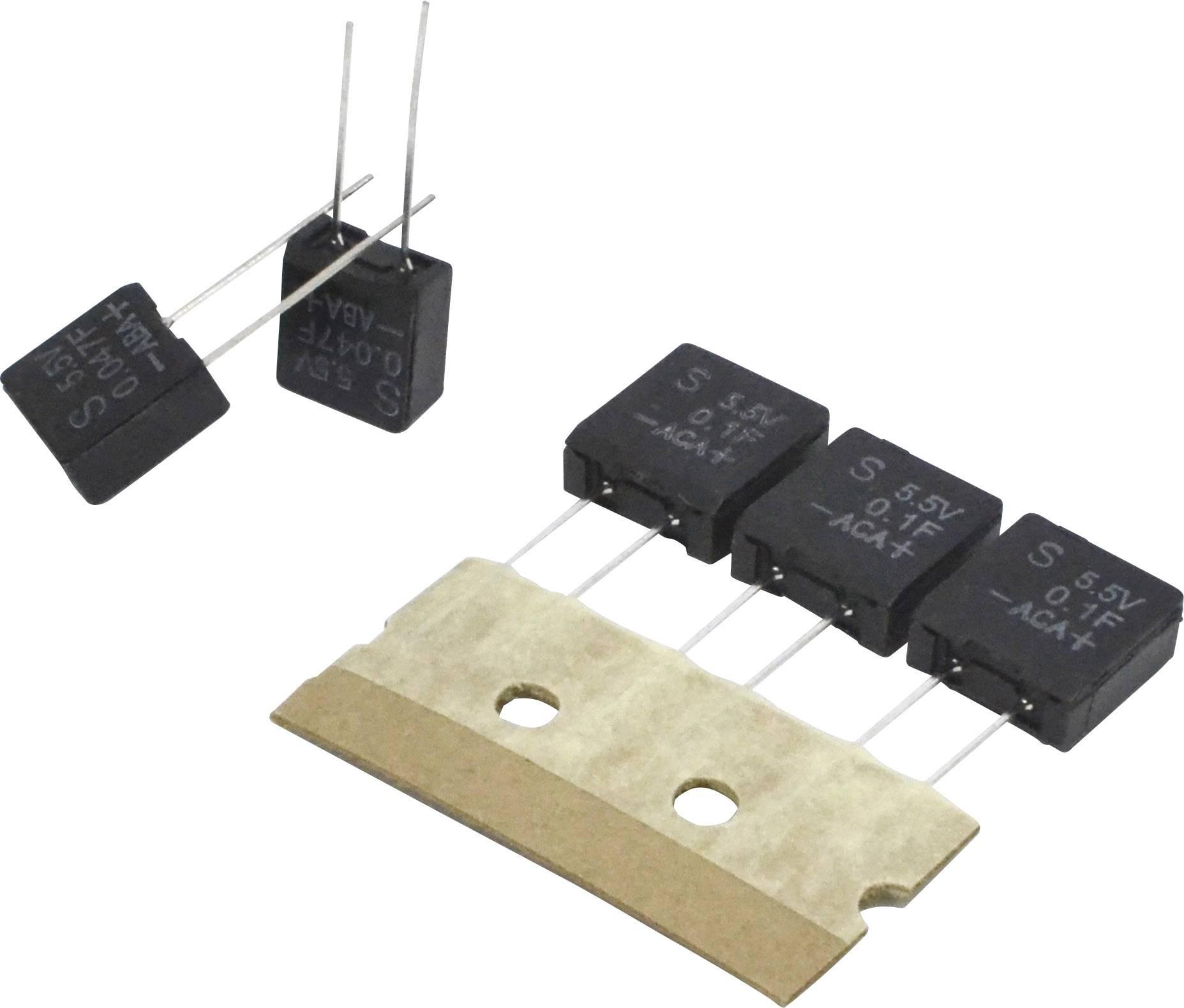 Dvouvrstvý kondenzátor Korchip DA5R5473VF, 0.047 F, 5.5 V, (d x š x v) 5.0 x 9.5 x 10.5 mm, 1 ks