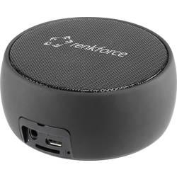Bluetooth® reproduktor Renkforce BlackGlobe1 hlasitý odposluch, AUX, SD, čierna/biela