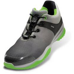 Bezpečnostní obuv ESD S1P Uvex 8473345, vel.: 45, šedá, zelená, 1 pár