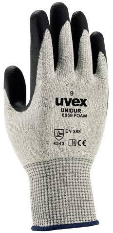 Pracovní rukavice Uvex unidur 6659 foam 6093809, velikost rukavic: 9