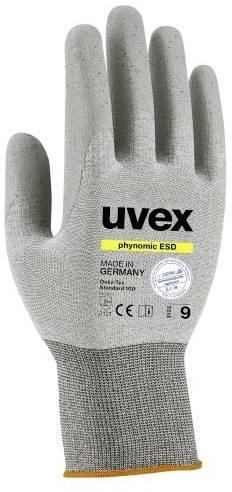 Pracovní rukavice Uvex phynomic ESD 6005807, velikost rukavic: 7