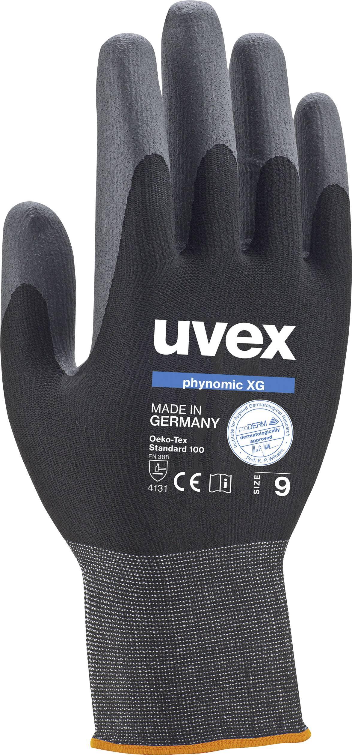 Pracovné rukavice Uvex phynomic XG 6007010, velikost rukavic: 10