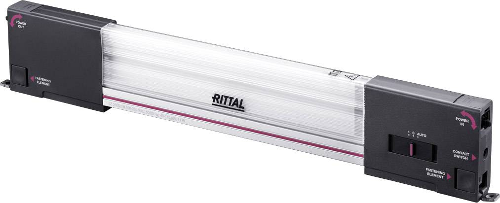 Rittal 2500.200, neutrálne biela, 900 lm, 11 W, 240 V/AC