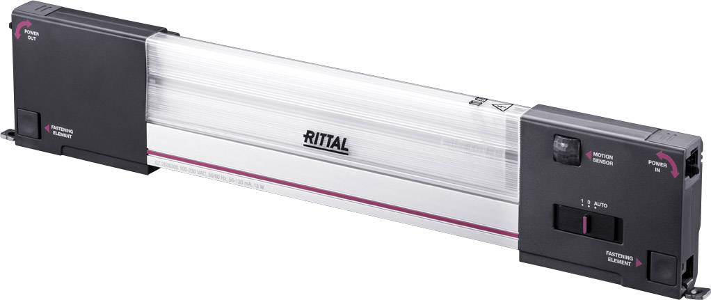 Rittal 2500.300, neutrálne biela, 1200 lm, 13 W, 240 V/AC