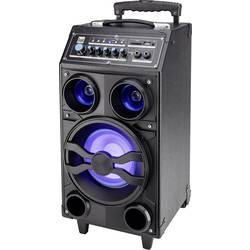 Mobilní PA reproduktor Dual DSBX 100, napájeno akumulátorem