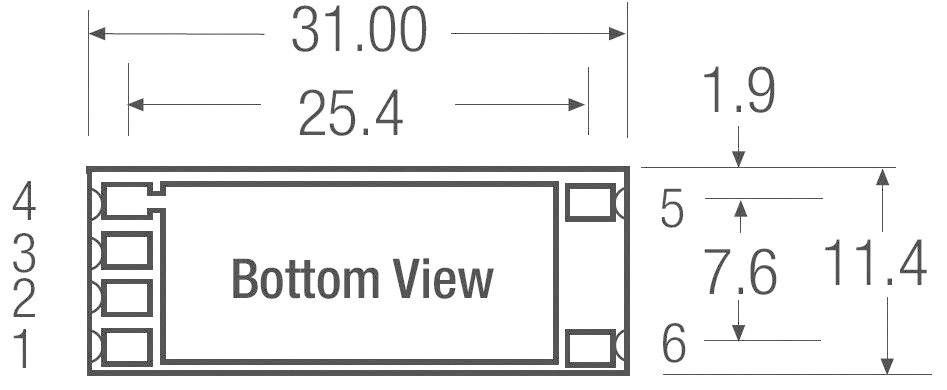 LED ovladač Recom Lighting RCD-24-0.70/PL/B, 4.5-36 V/DC
