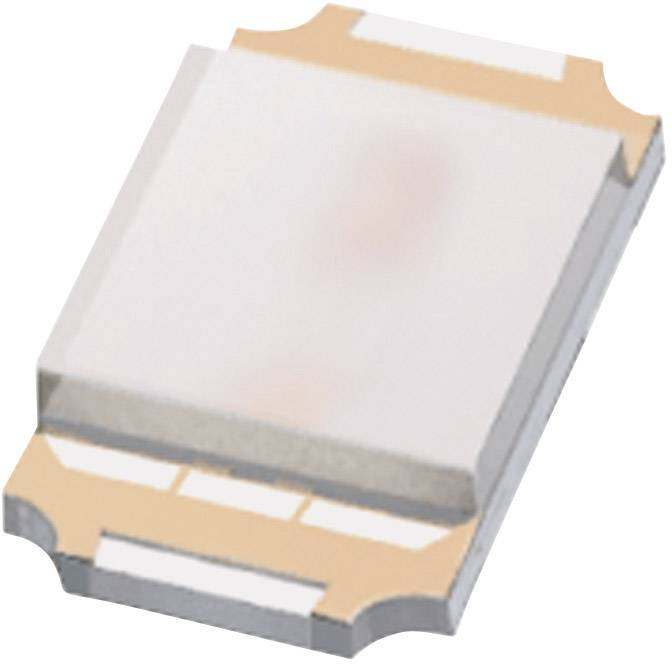 SMD LED ROHM Semiconductor, SML-P12DTT86, 20 mA, 2,1 V, 50 °, 100 mcd, oranžová, SML-P12DT