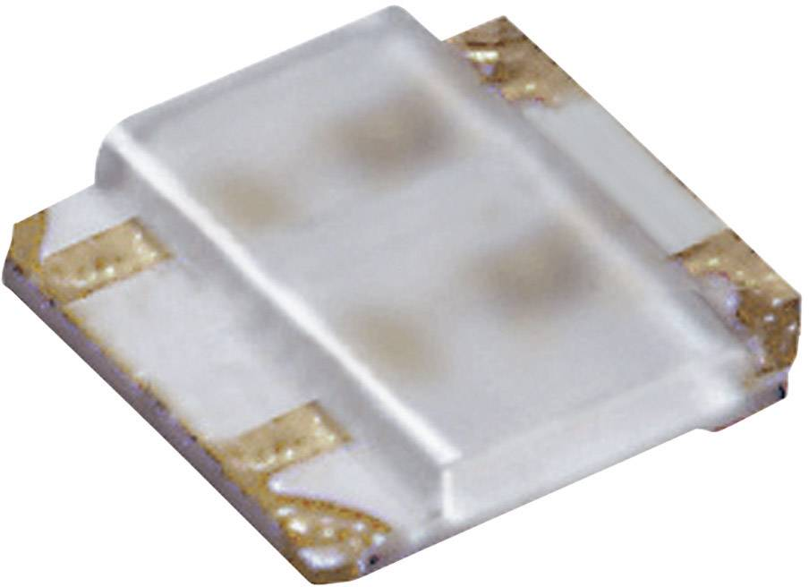 ViacfarebnáSMDLED ROHM Semiconductor SML-P24MUWT86M, 21 mcd, 52 mcd, 50 °, 20 mA, 2.2 V, 2.1 V, zelená, červená