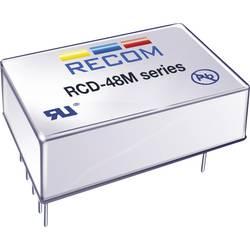 Napájecí zdroj LED Serie Recom Lighting RCD-48-1.20/M, 0-1.2 A, 9-60 V/DC