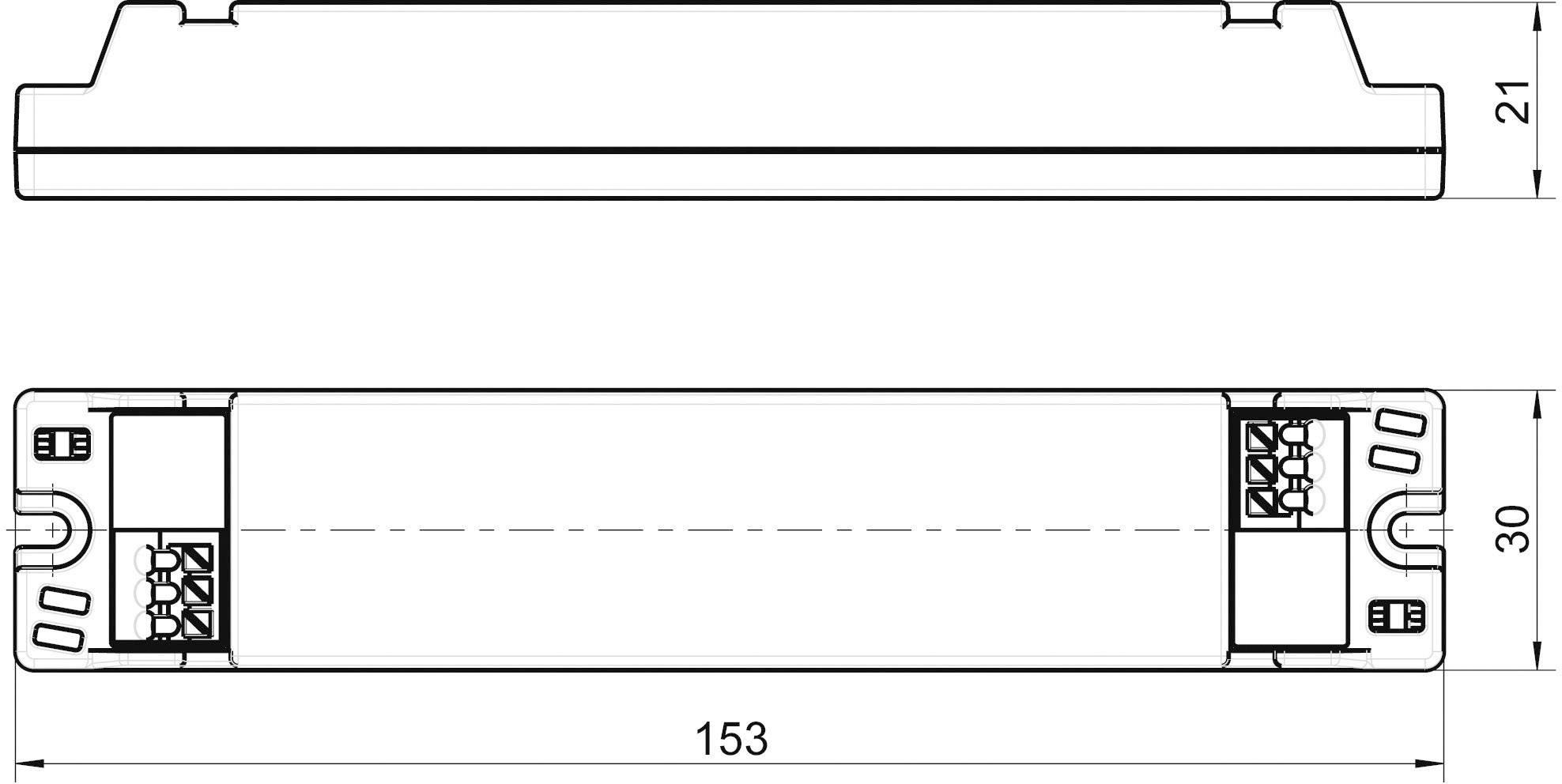 Napájací zdroj pre LED, LED driver LT20-24/833, 0.87 A, 15 - 24 V/DC