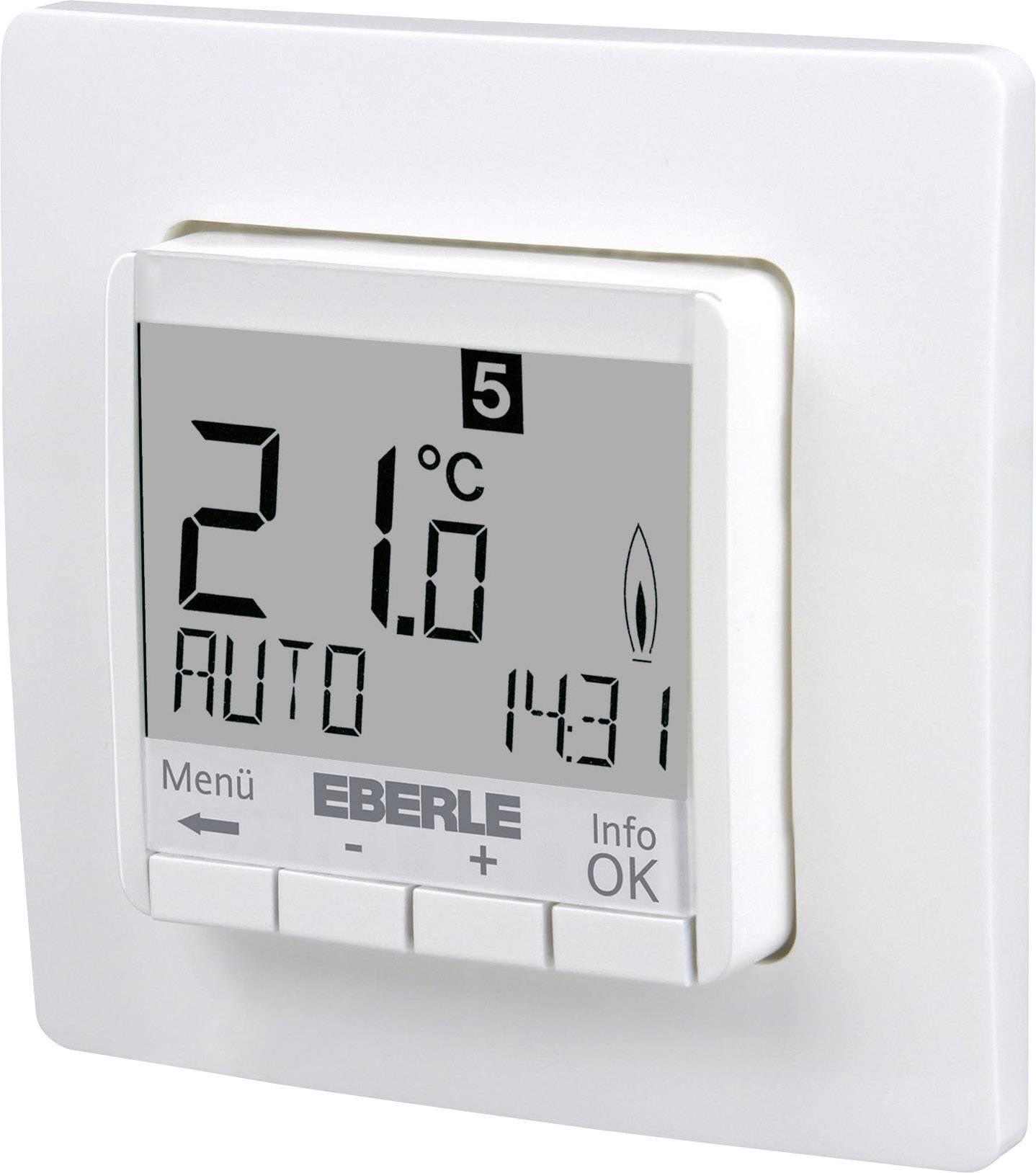 Pokojový termostat Eberle FIT 3R, pod omítku