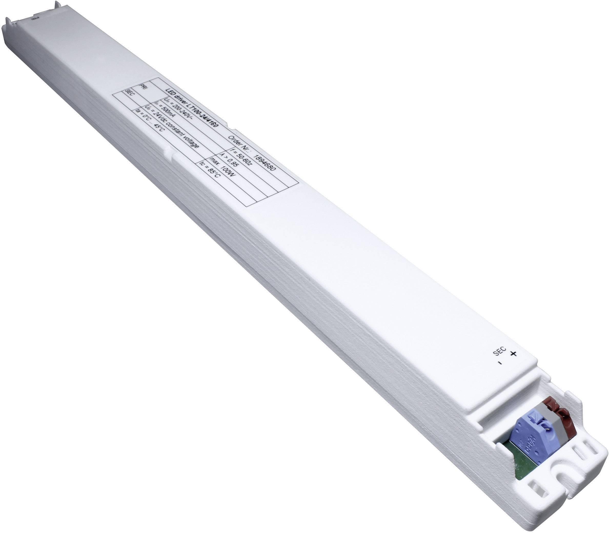 Napájací zdroj pre LED, LED driver LT100-24/4160, 1.46 A, 15 - 24 V/DC