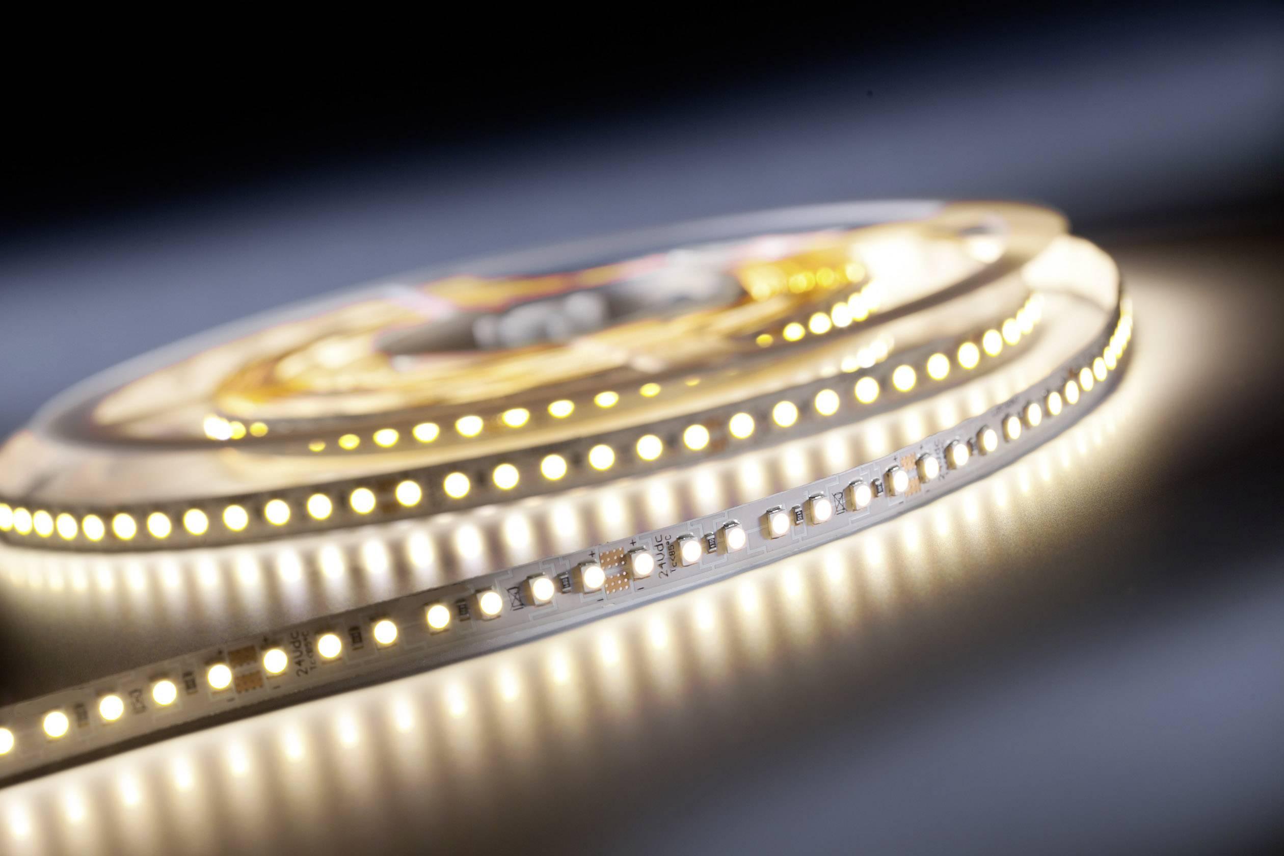 LED pásik TRU COMPONENTS TRU-FLEX-300-12-WW, 12 V, 13 W, teplá biela, 5000 mm