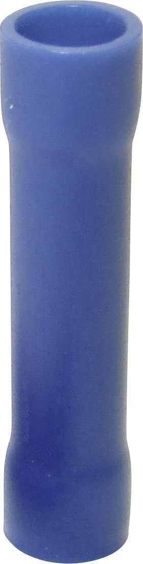 Krimpovacia spojka TRU COMPONENTS 1583021, 1.50 - 2.50 mm², úplne izolované, modrá, 1 ks