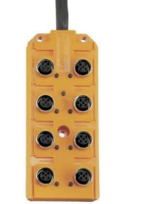 Pasívny box senzor/ aktor Lumberg Automation ASB 8/LED 5-4-331/5 M 60603, 1 ks