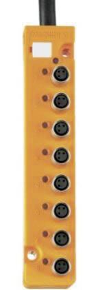 Konektorová lišta Lumberg Automation, SB 8/LED 3-220, M8, 8 zásuvek