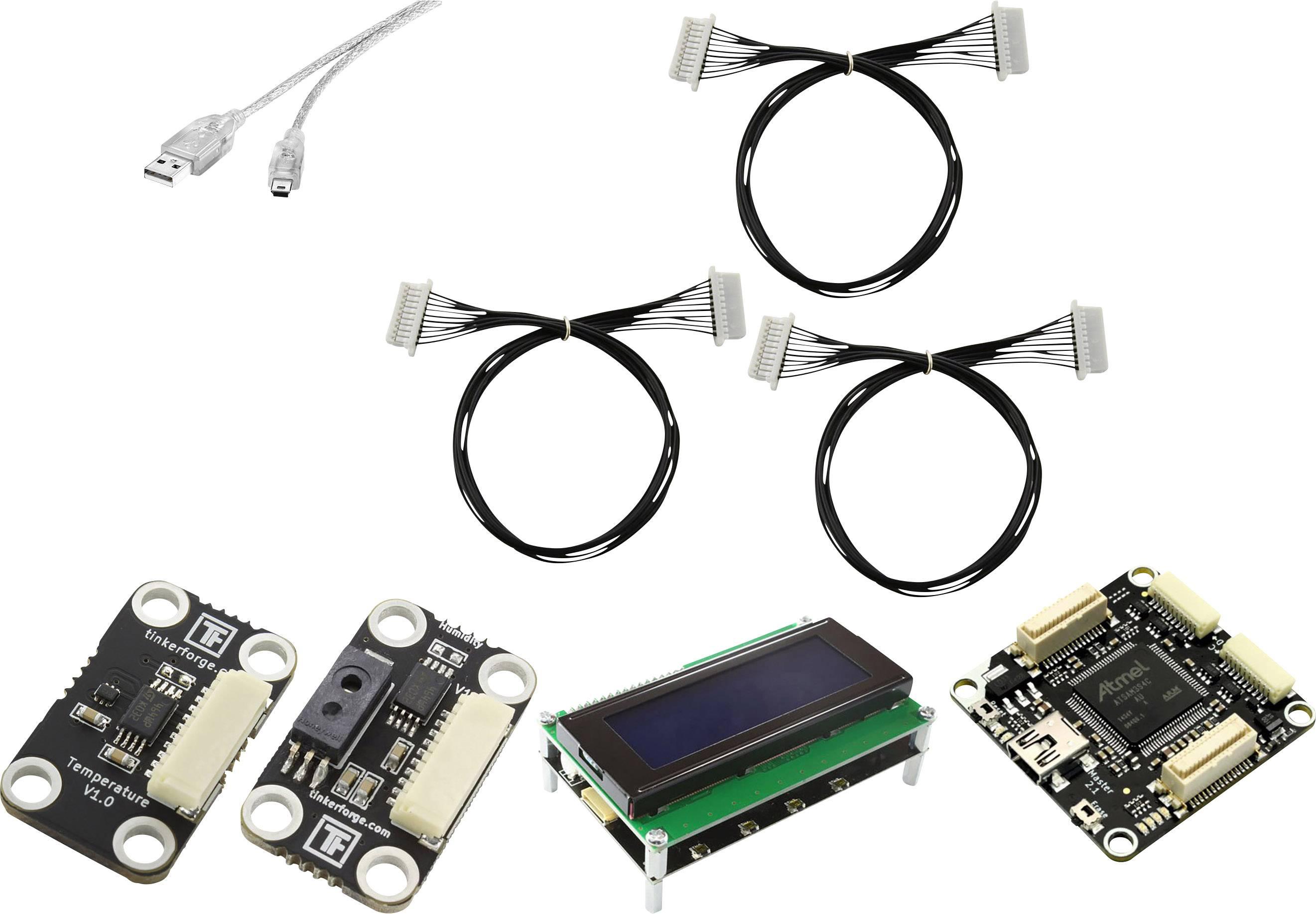 Vývojová sada Renkforce pro Raspberry Pi® 3, teploměr a vlhkoměr