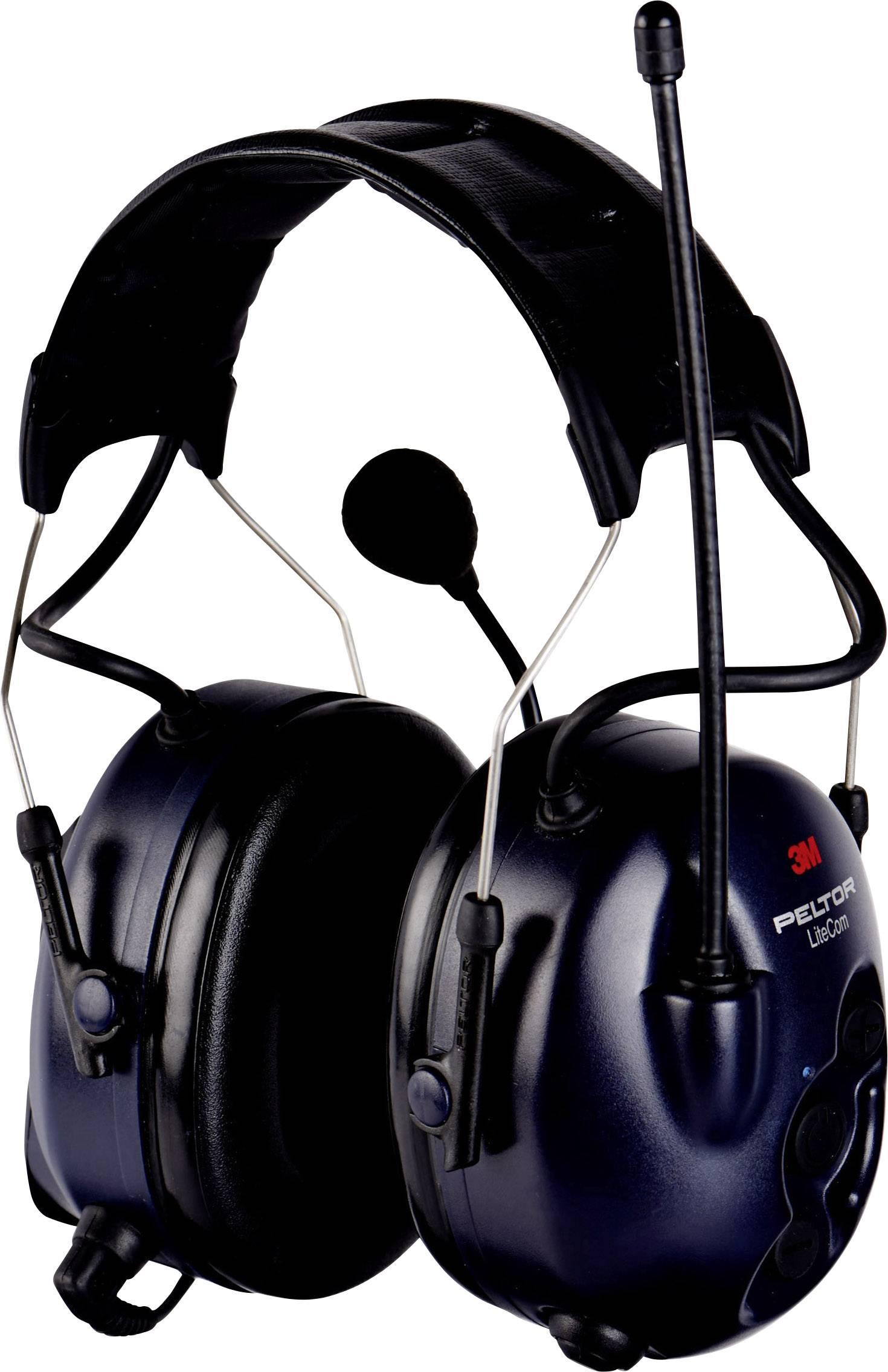 Headset s mušlovými chrániči sluchu 3M Peltor MT53H7A4400-EU LiteCom, 32 dB, 1 ks