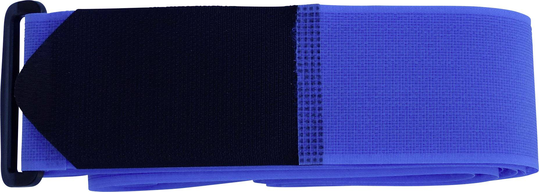 Pásik na kufor so suchým zipsom TRU COMPONENTS 922-0426-Bag, modrá, 1 ks