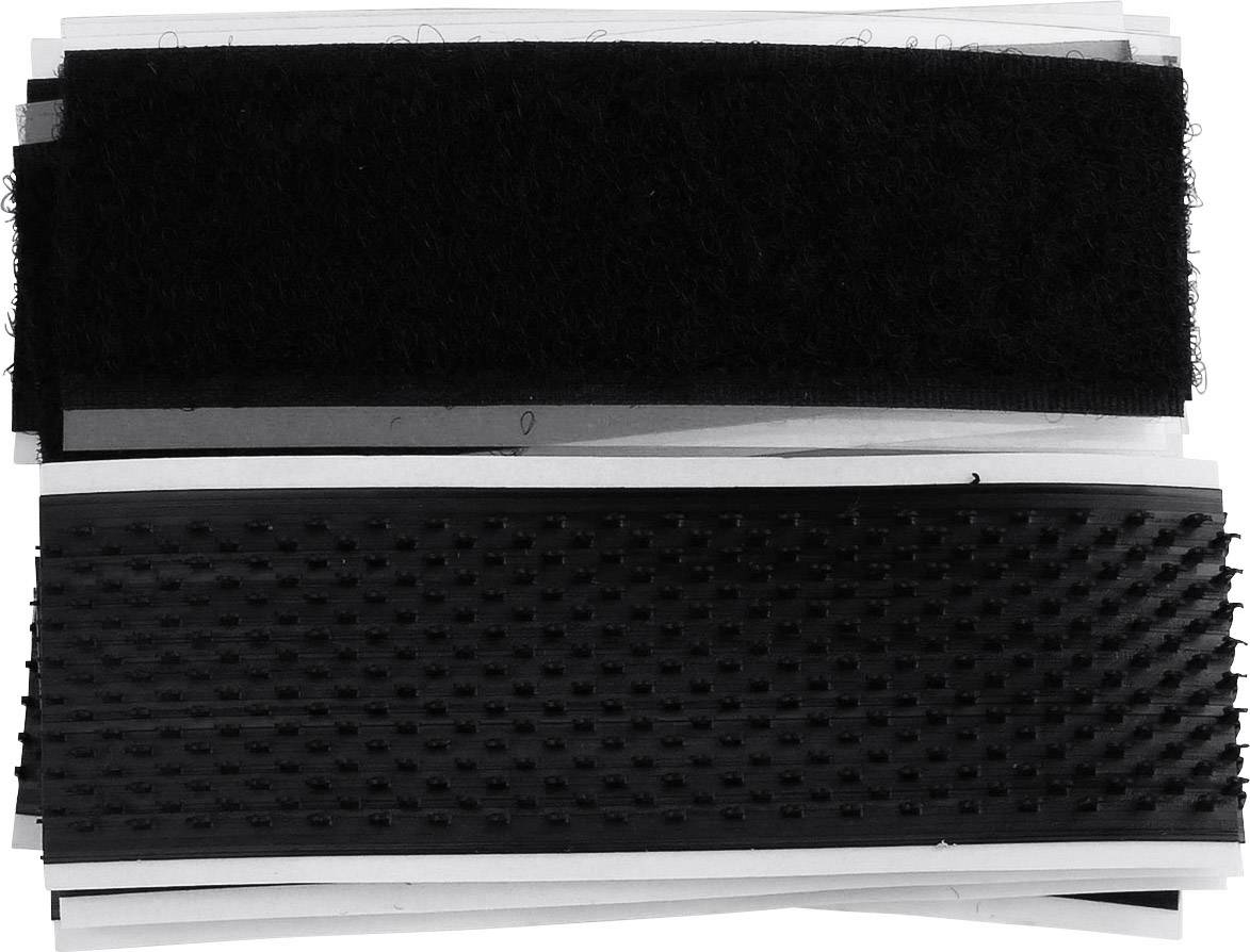 Lepiaci pásik so suchým zipsom TRU COMPONENTS 904-MVA8-Bag, (d x š) 80 mm x 25 mm, 4 ks