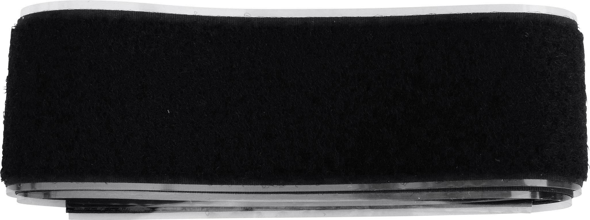 Lepiaci pásik so suchým zipsom TRU COMPONENTS 919-9999-Bag, čierna, 1 pár