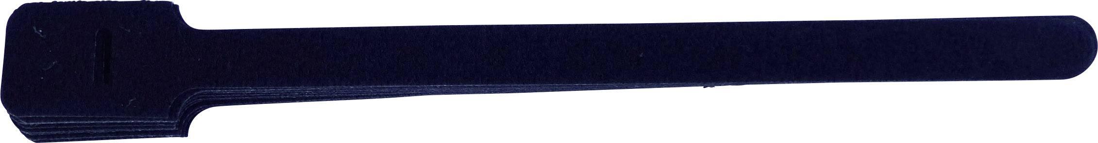 Na naskrutkovanie káblový manažér na suchý zips TRU COMPONENTS 894-008-Bag, (d x š) 225 mm x 13 mm, 10 ks