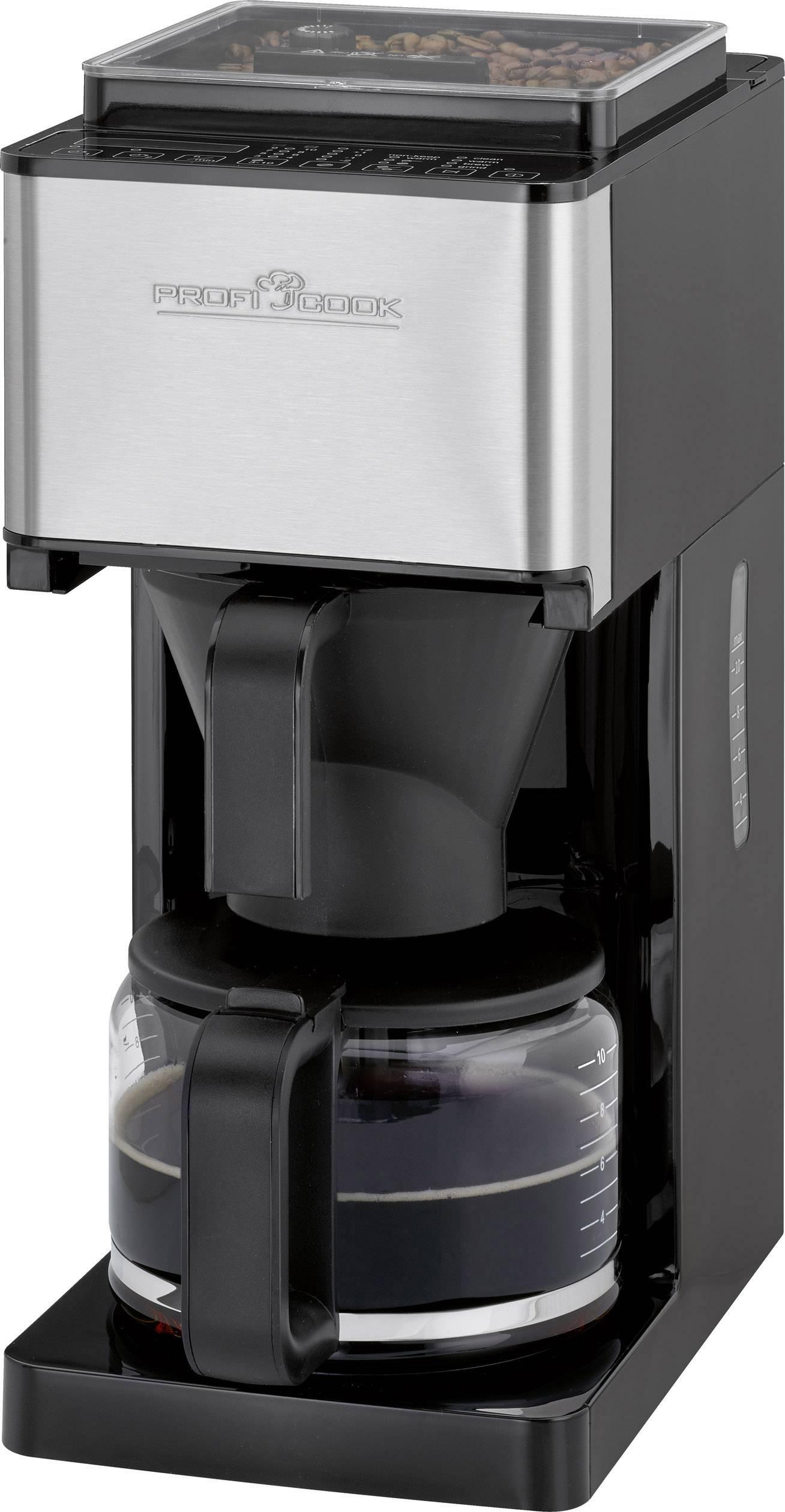 Kávovar Profi Cook PC-KA 1138, černá/ocelová