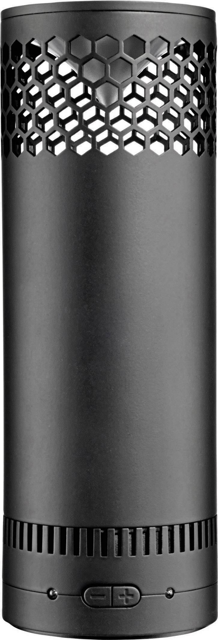 Bluetooth® reproduktor 808 Audio Hex SL AUX, čierna
