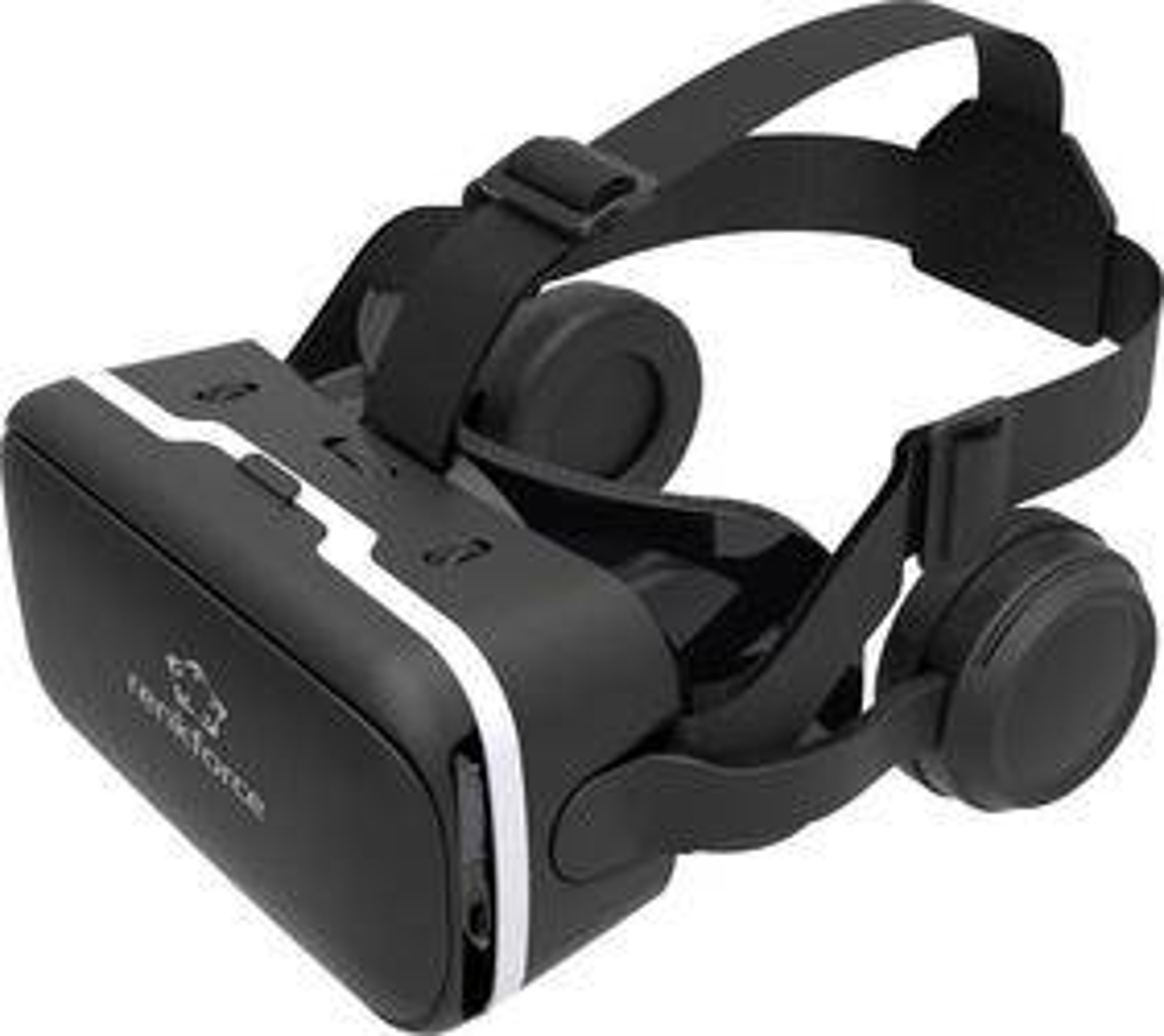 Brýle pro virtuální realitu se sluchátky Renkforce RF-VR2, černá
