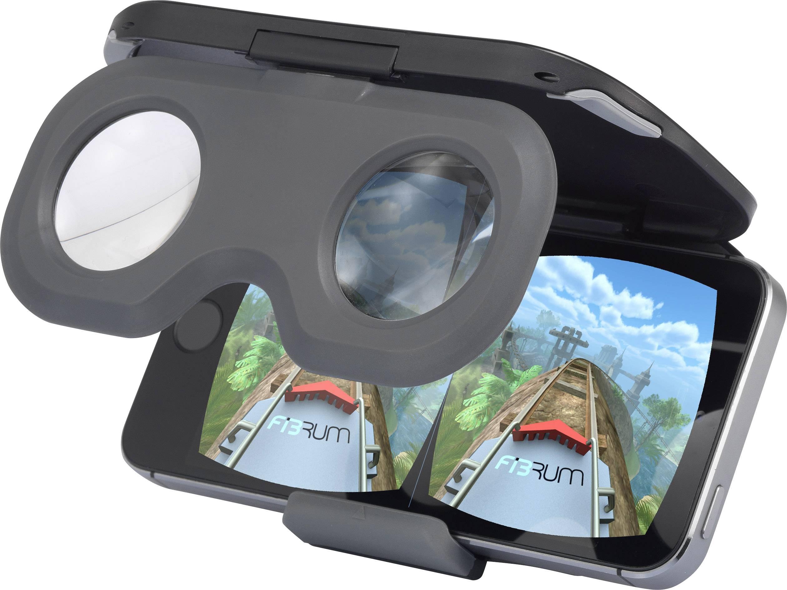 Okuliare pre virtuálnu realitu Basetech BT-VR-GO, čierna