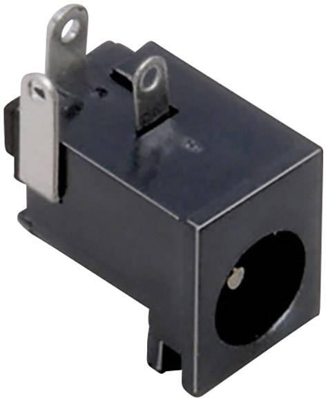 Nízkonapäťový konektor zásuvka, vstavateľná horizontálna TRU COMPONENTS 6.3 mm, 2.1 mm, 1 ks