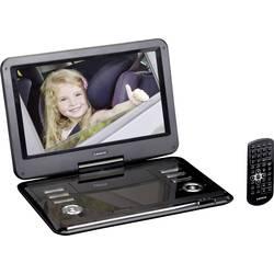 Přenosný DVD přehrávač 30.5 cm 12 palec Lenco DVP-1210 napájení z akumulátoru, s integrovaným DVD přehrávačem